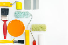 Painting supplies Royalty Free Stock Images