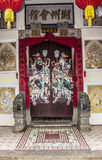 Painting on the temple door Stock Photography