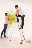 Painting together Stock Photography