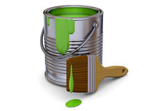 Painting Tool - 3D Royalty Free Stock Photography