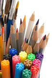 Painting tools. Royalty Free Stock Photo