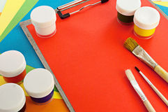 Painting tools. Stock Photography
