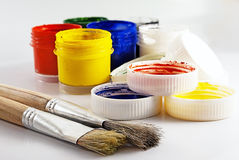 Painting tools. Royalty Free Stock Photos