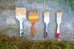 Painting tools Royalty Free Stock Photo