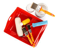 Painting tools Royalty Free Stock Images