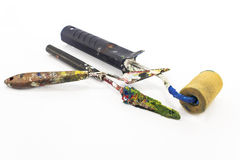 Painting tools. Royalty Free Stock Image