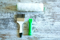 Painting Tools Royalty Free Stock Photography