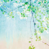 Painting Treetop Stock Photography