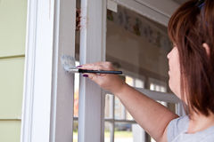 Painting Trim Stock Photo