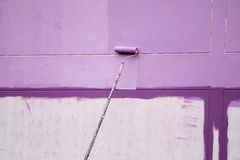 Painting Wall Royalty Free Stock Photography