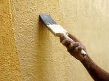 Painting Wall Royalty Free Stock Image