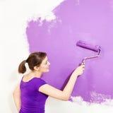 Painting wall Stock Photos