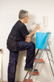 Painting the walls Royalty Free Stock Photos