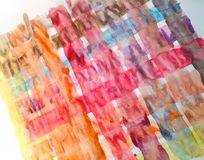 Painting with Watercolor Paint. Abstract Painting by Watercolor Paint on paper royalty free stock images