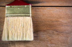 Painting on wood floors. To be used as wallpaper Royalty Free Stock Photos