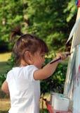 painting2 ηλιοβασίλεμα στοκ φωτογραφίες με δικαίωμα ελεύθερης χρήσης