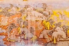 Paintingof Βούδας Στοκ Εικόνες