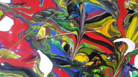 Colors. Paintings Acrylic colors for digital printing royalty free stock photos