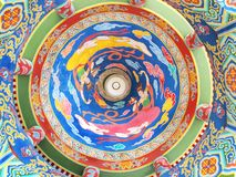 Paintings of China. In thailand Royalty Free Stock Images