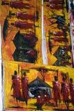 Paintings, Stone Town, Zanzibar, Tanzania Stock Photos