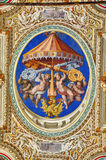 Paintings in the Vatican Royalty Free Stock Images