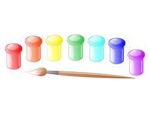 Paints Stock Image