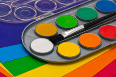 Paints. Royalty Free Stock Image