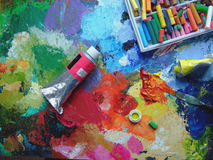 Paints Royalty Free Stock Photo