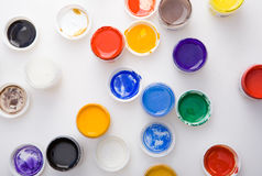 Paints for art Stock Photos
