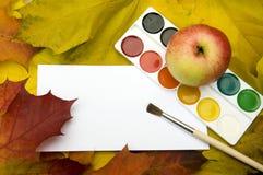 Paints of autumn. Stock Images