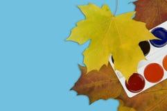 Paints of autumn. Royalty Free Stock Photos
