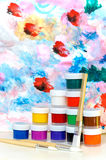 Paints Royalty Free Stock Images