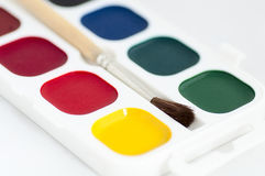 Paints for drawing Royalty Free Stock Images