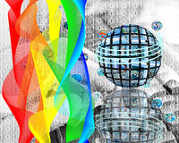 Paints of Internet Stock Photos