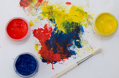 Paints Royalty Free Stock Photography