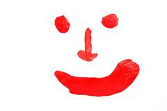 Paints smile Royalty Free Stock Images