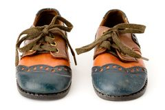 Paio di scarpe Fotografie Stock
