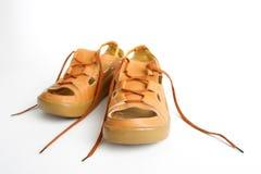 Paio di scarpe Immagini Stock