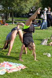 Paio-yoga Immagini Stock Libere da Diritti