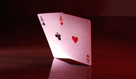 A pair of aces. Stock Photography