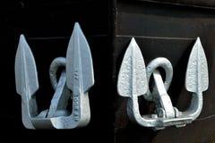 Pair of anchors Royalty Free Stock Photo