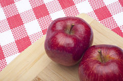 Pair of Apples Stock Image