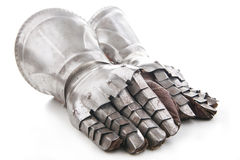 A pair of armored gloves Royalty Free Stock Photography