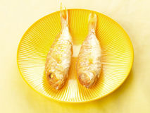 A pair of asian fried fish. A pair of delicious asian fried fish Stock Images