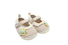 Pair Of Baby Shoes Stock Image