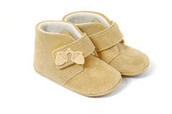 Pair of baby shoes Royalty Free Stock Photography