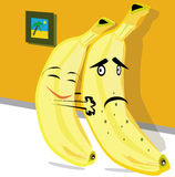 Pair of bananas. Stock Photography