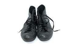 Pair of basketball shoes Stock Photos