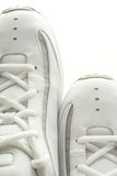 Pair of basketball shoes. Side by side Royalty Free Stock Photography