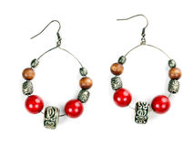 Pair of beautiful earrings Stock Image